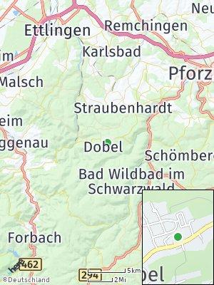 Here Map of Dobel