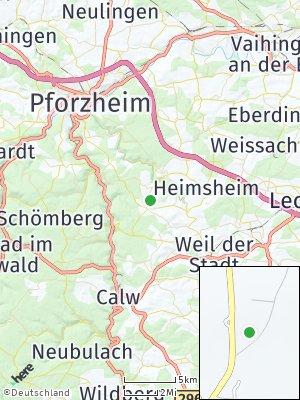 Here Map of Neuhausen