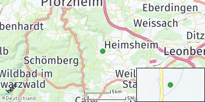 Google Map of Neuhausen