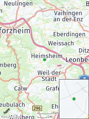 Here Map of Heimsheim
