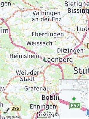 Here Map of Rutesheim