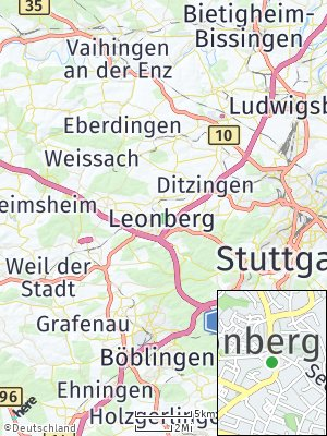 Here Map of Leonberg