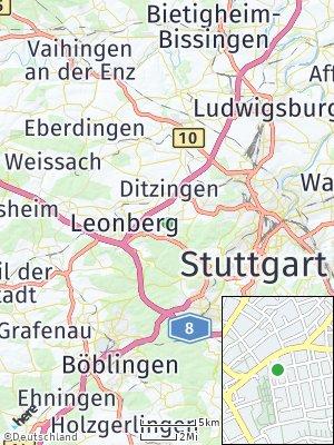 Here Map of Gerlingen