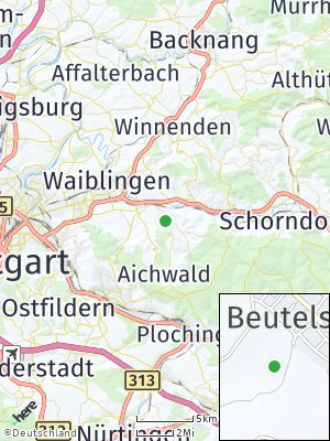 Here Map of Beutelsbach