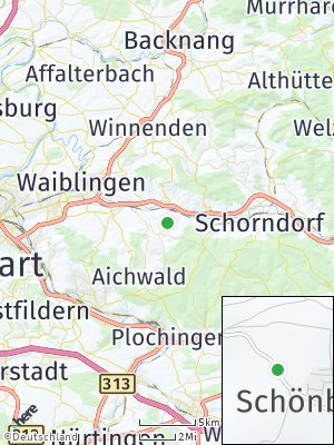 Here Map of Schönbühl