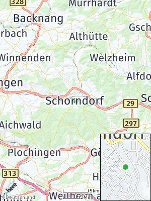 Here Map of Schorndorf