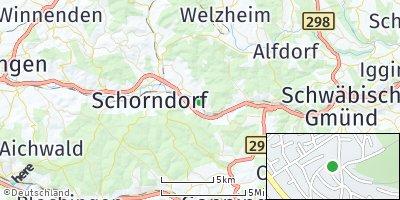Google Map of Plüderhausen