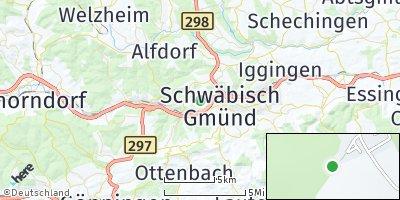 Google Map of Wustenriet