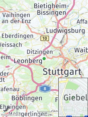 Here Map of Giebel