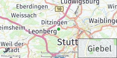 Google Map of Giebel
