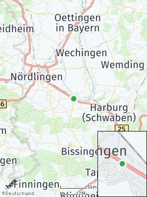 Here Map of Möttingen