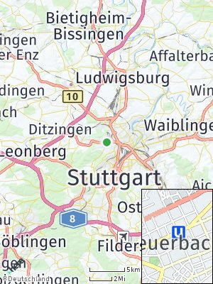 Here Map of Feuerbach