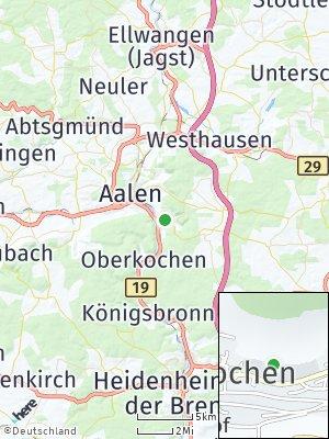 Here Map of Unterkochen