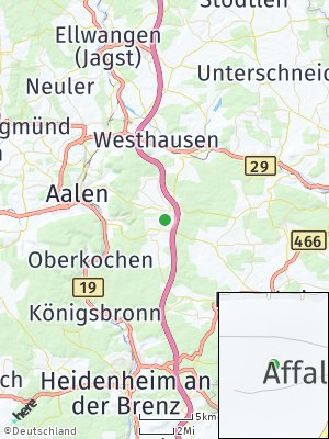 Here Map of Waldhausen