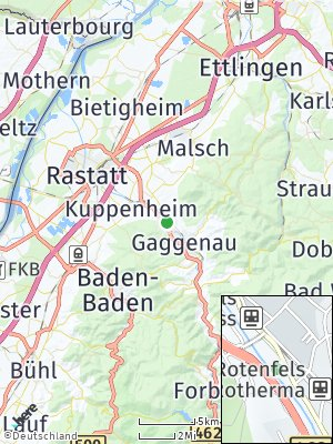 Here Map of Rotenfels