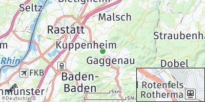 Google Map of Rotenfels