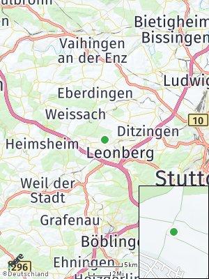 Here Map of Gebersheim