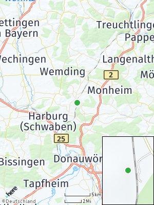 Here Map of Fünfstetten