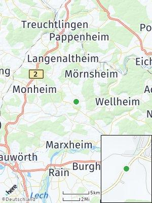 Here Map of Tagmersheim