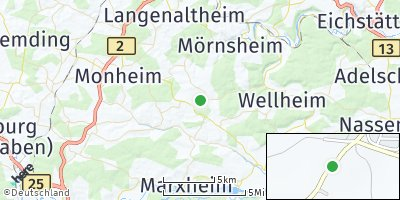 Google Map of Tagmersheim