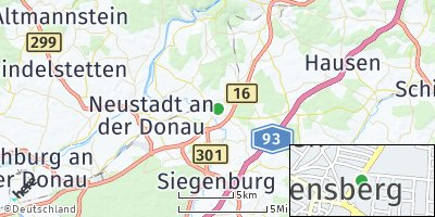 Google Map of Abensberg