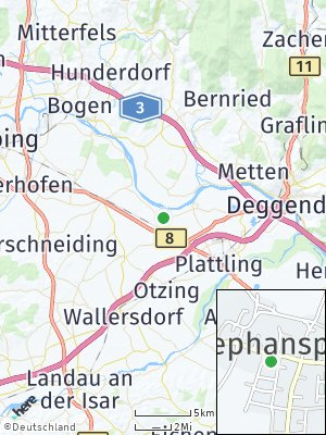 Here Map of Stephansposching