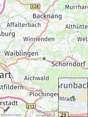 Here Map of Remshalden