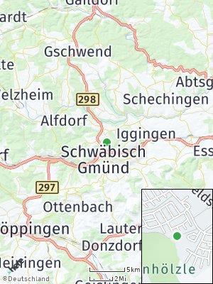 Here Map of Mutlangen