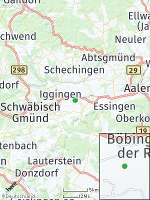 Here Map of Böbingen an der Rems