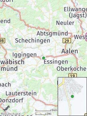 Here Map of Mögglingen
