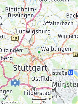 Here Map of Münster