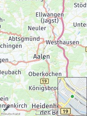 Here Map of Aalen