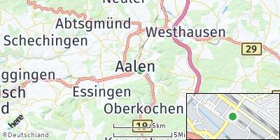 Google Map of Aalen