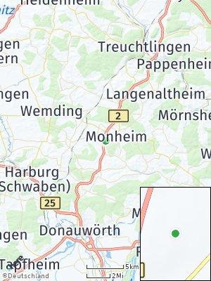 Here Map of Monheim