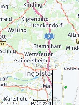 Here Map of Wettstetten
