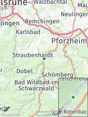 Here Map of Neuenbürg