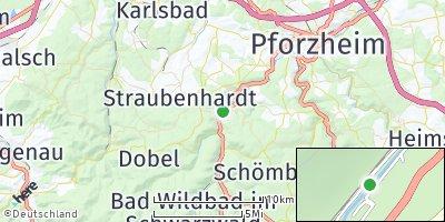 Google Map of Neuenbürg