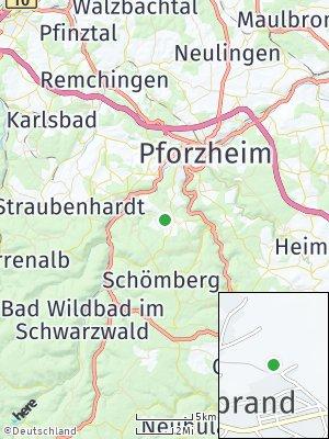 Here Map of Engelsbrand