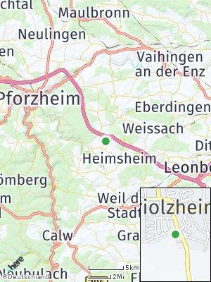 Here Map of Friolzheim