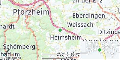 Google Map of Friolzheim