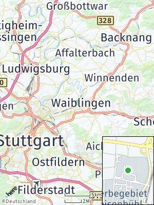 Here Map of Hohenacker