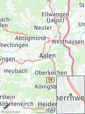 Here Map of Unterrombach