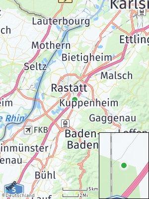 Here Map of Niederbühl