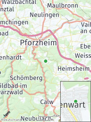 Here Map of Hohenwart