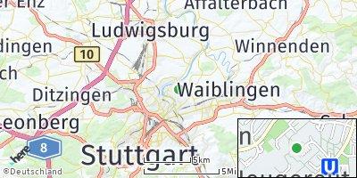 Google Map of Steinhaldenfeld