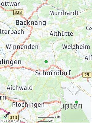 Here Map of Mannshaupten