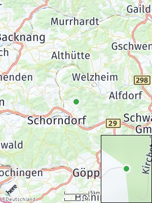 Here Map of Haubersbronn