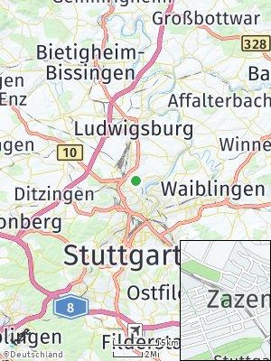 Here Map of Zazenhausen