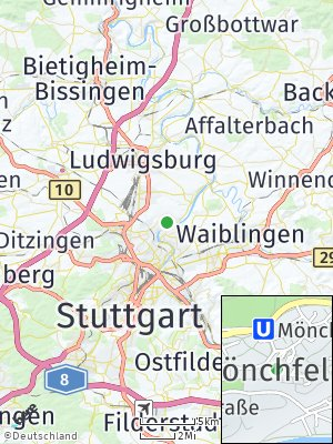 Here Map of Mönchfeld