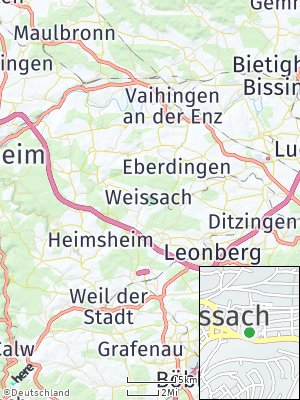 Here Map of Weissach